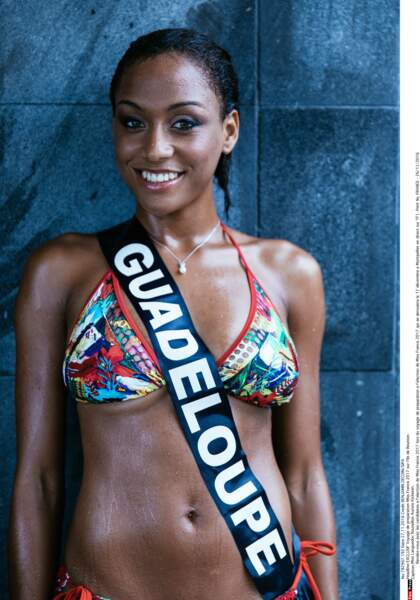 Miss France 2017 : miss Guadeloupe Morgane Theresine
