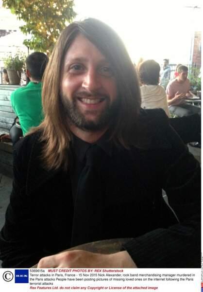 Nick Alexander, 36 ans
