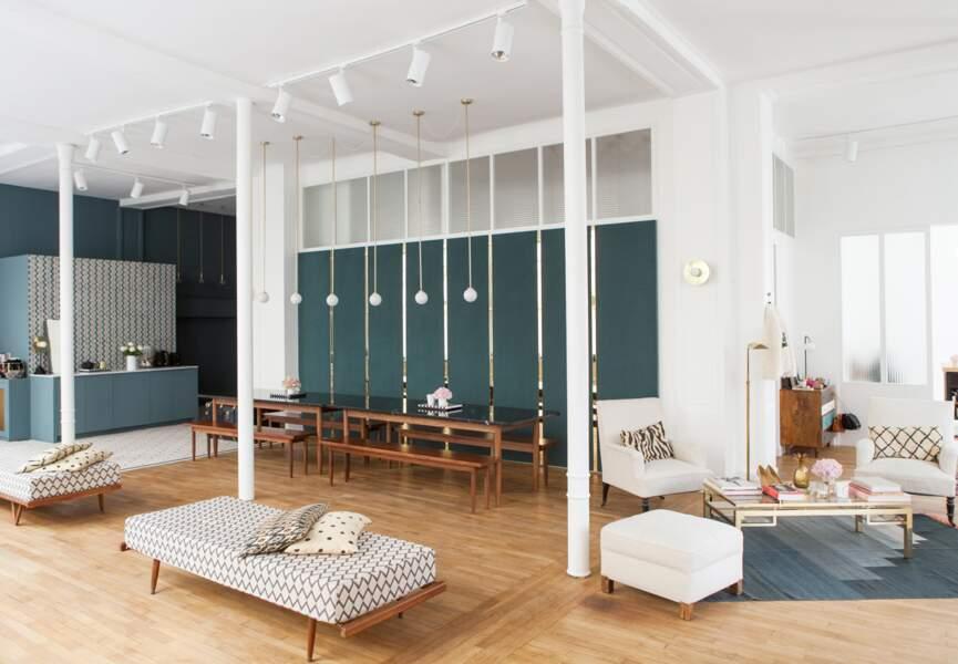 Appartement Sézane : un espace cosy et chaleureux