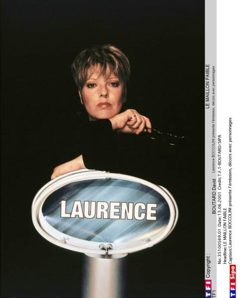 Laurence Boccolini : 2001