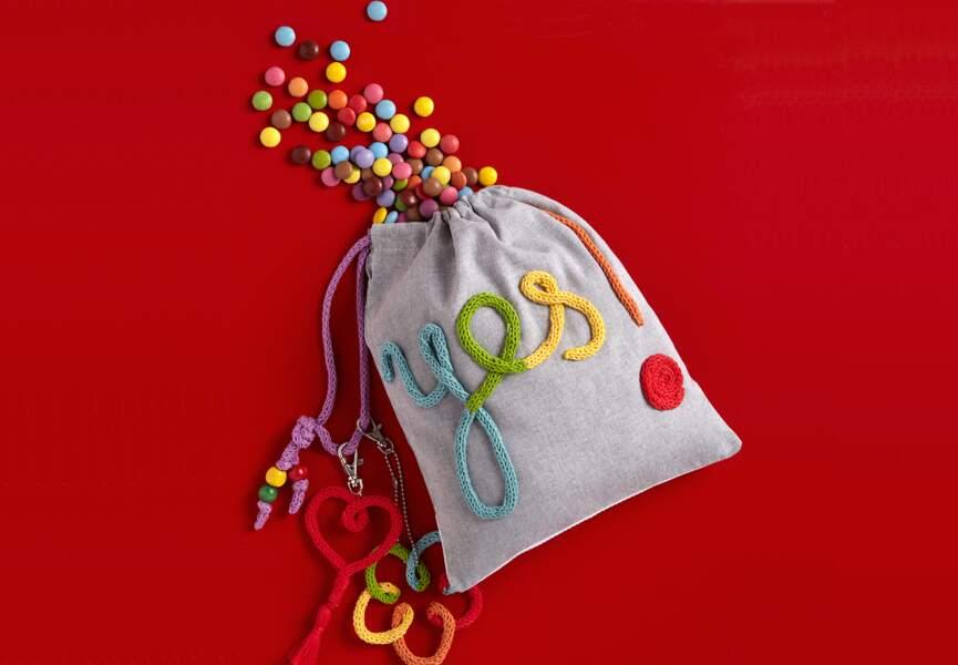 Un sac au tricotin