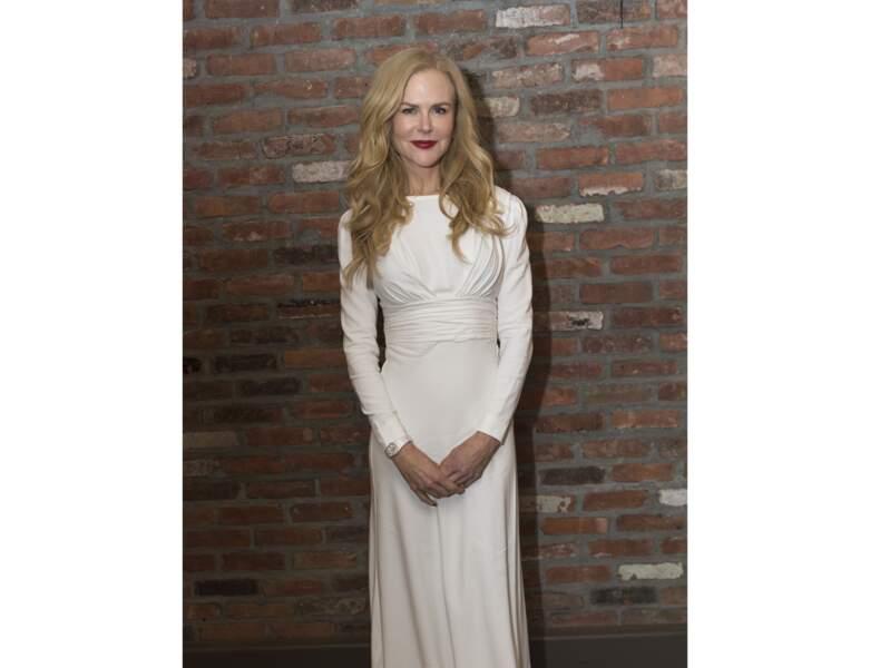 Le rouge brique de Nicole Kidman
