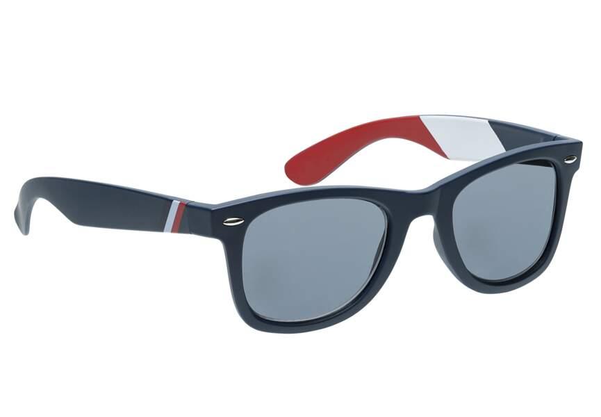 Bleu blanc rouge: les lunettes de soleil