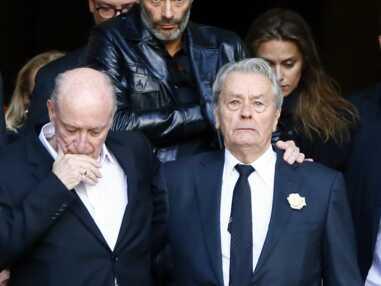 Pascal Desprez et Alain Delon, unis pour un dernier adieu à Mireille Darc