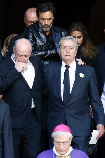 Pascal Desprez et Alain Delon