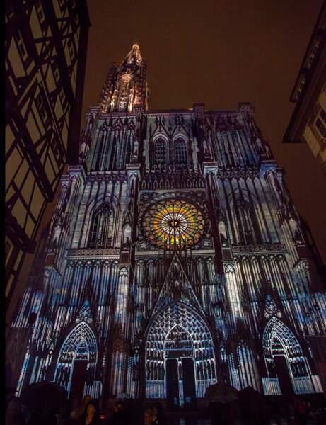 À Strasbourg, les mythiques illuminations de la cathédrale
