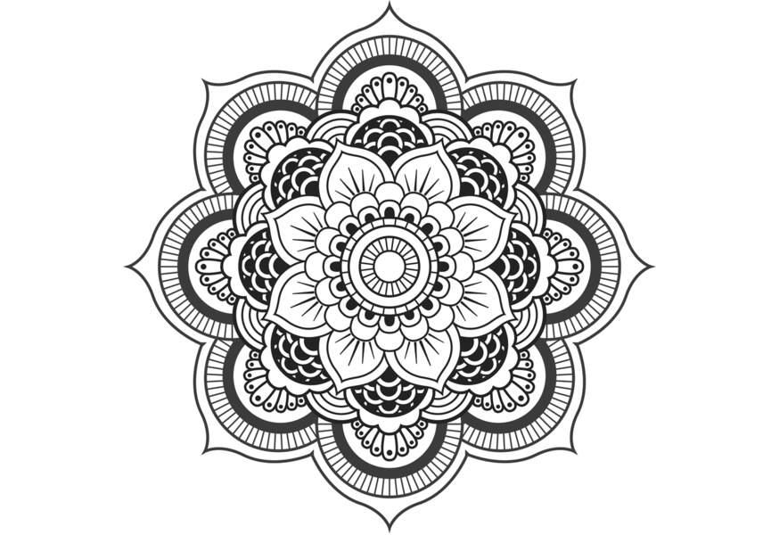 Mandala gratuit à imprimer