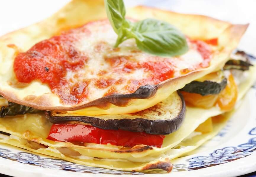 Lasagnes sans béchamel
