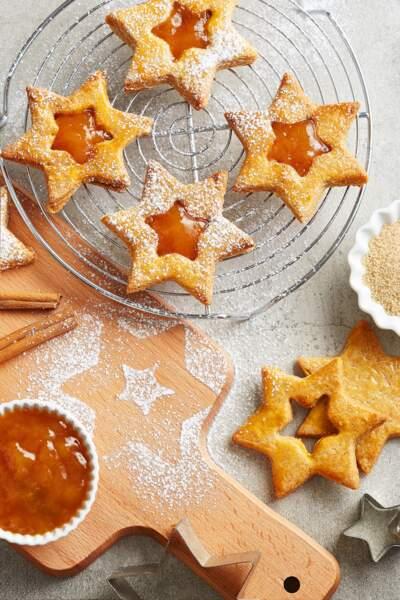Biscuits pain d'épices aux mirabelles
