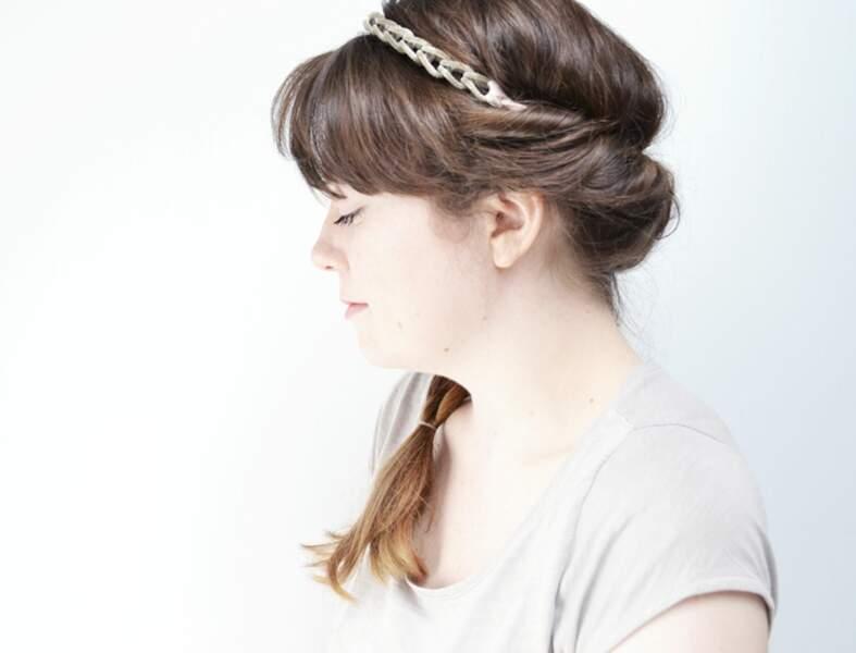Une coiffure express avec un headband