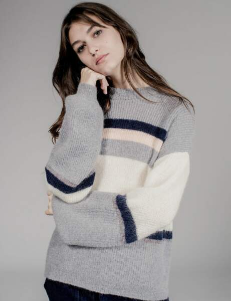 Gros pull : moelleux