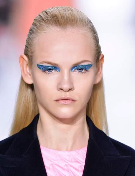 L'effet plaqué du défilé Dior