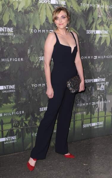 Le mannequin britannique Sophie Dahl mesure 1m83.