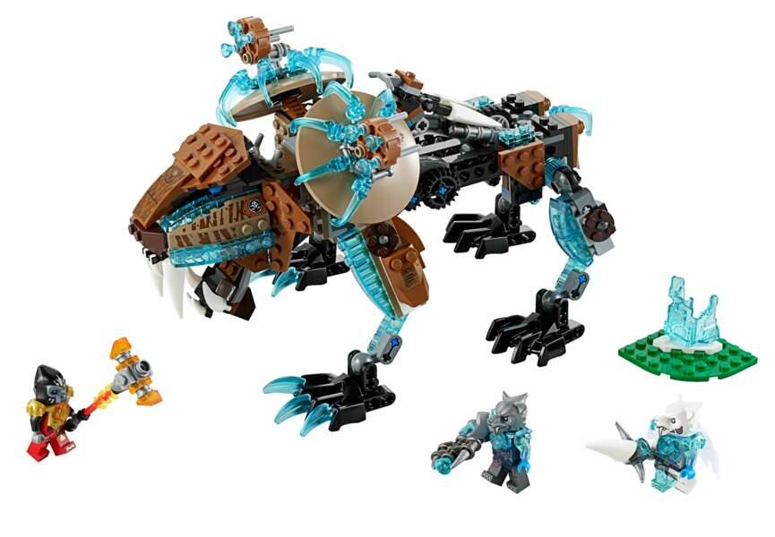 Un robot lego pour les bricolos