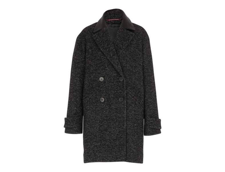 Manteau chiné Comptoir des Cotonniers