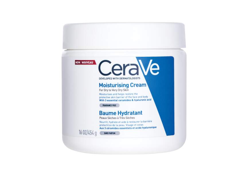 Le baume hydratant CéraVe