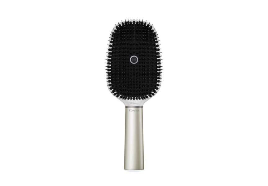 La brosse à cheveux connectée