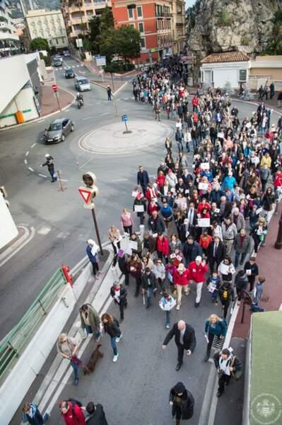 Un parcours sur 3km en l'honneur de la COP 21 qui se tient en ce moment à Paris
