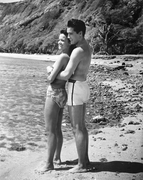 Elvis Presley et Joan Blackman en 1961