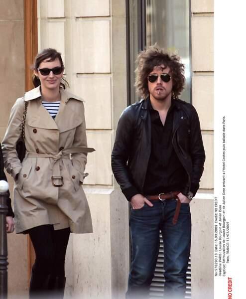 Louise Bourgoin, Julien Doré, 2007-2010