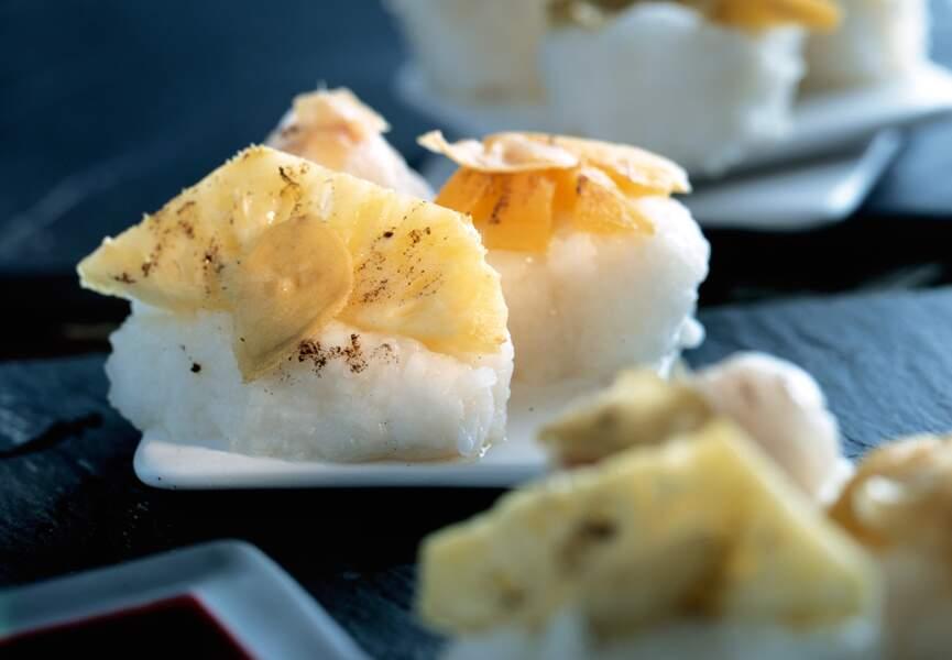 Sushis à l'ananas