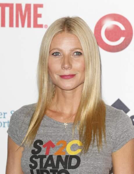 J'ai une mâchoire proéminente, j'adopte le long ultra-lissé de Gwyneth Paltrow