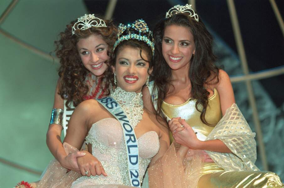 Priyanka Chopra Miss Monde 2000