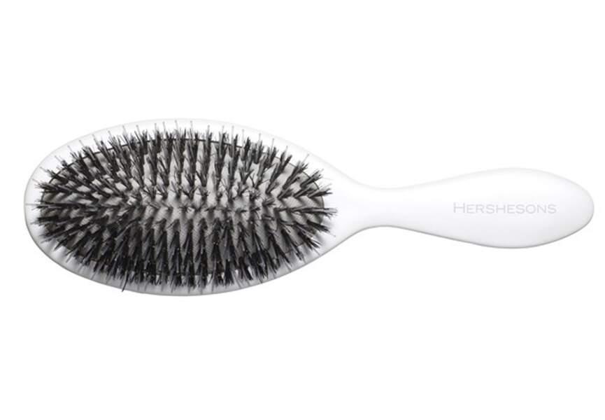 La brosse pour cheveux sensibilisés