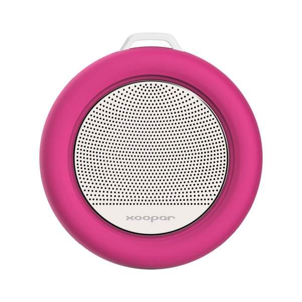 Une mini enceinte pour chanter sous la douche
