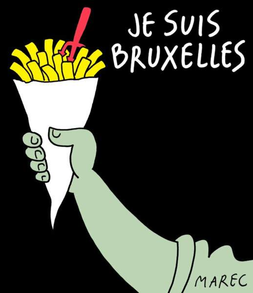 Le dessin du Belge Marc De Cloedt, alias MAREC