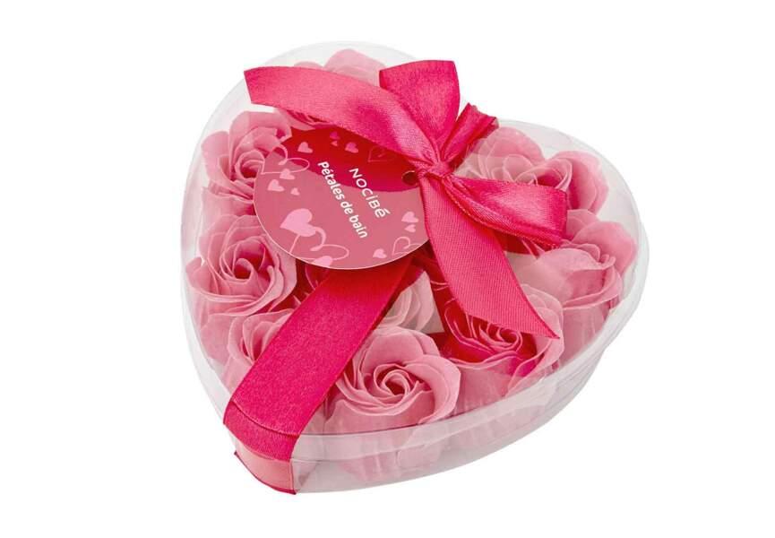 Un bain de roses parfumé