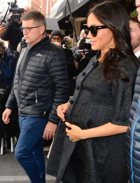 Meghan Markle : une future maman ultra-stylée dans les rues new yorkaises