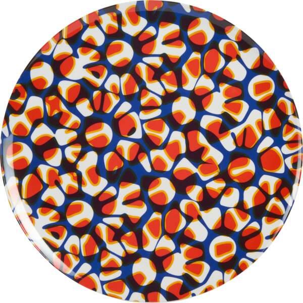 Plateau motif wax