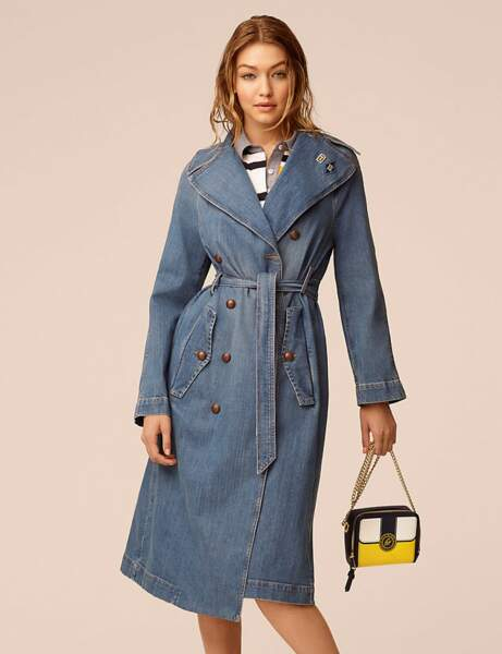 Le trench denim