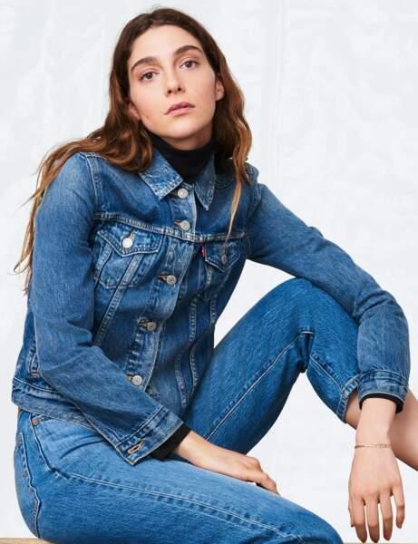 La veste en jean