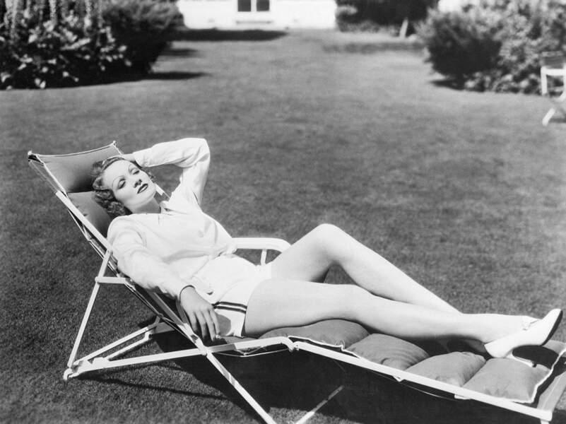 Marlène Dietrich en 1935