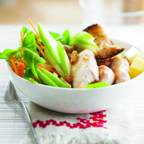 Salade de poulet à la granny-smith