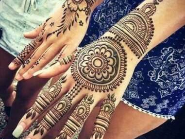 Les plus beaux tatouages au henné repérés sur Pinterest