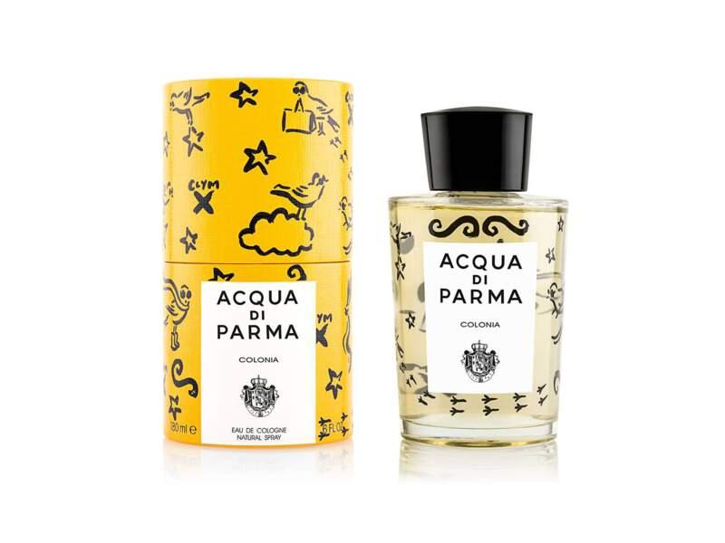 Eau de Cologne Concentrée Colonia Edition de Noël, Aqua Di Parma, flacon 180 ml, prix indicatif : 160 €