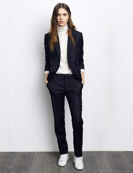 Le tailleur pantalon