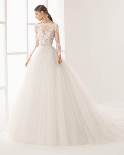 Mariage en hiver : Robe de mariée Niher par Rosa Clara