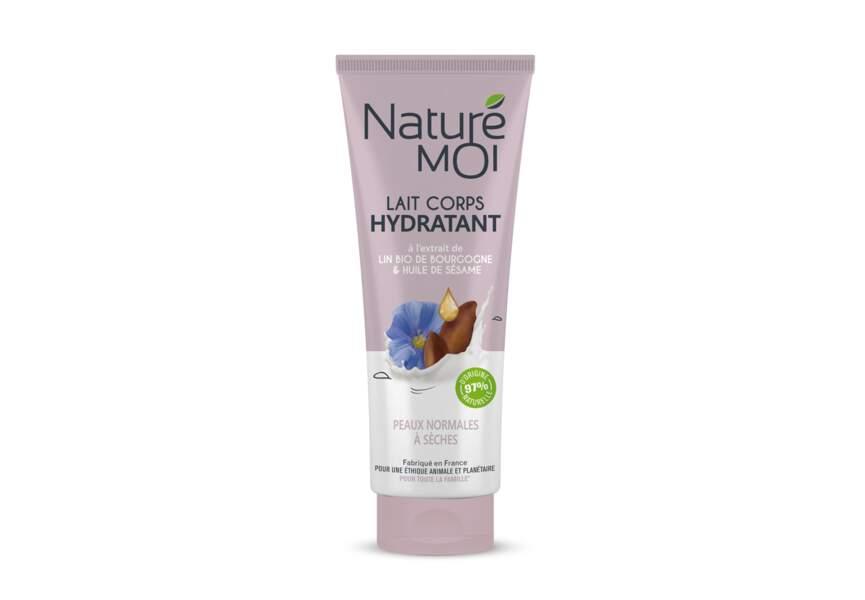 Le Lait corps hydratant peaux normales à sèche Naturé Moi