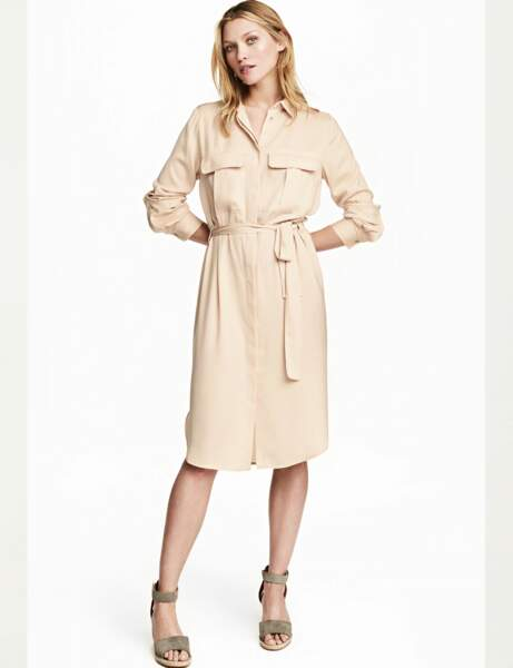 Tendance Robe Chemise Nos Robes Chemisiers Preferees Femme Actuelle