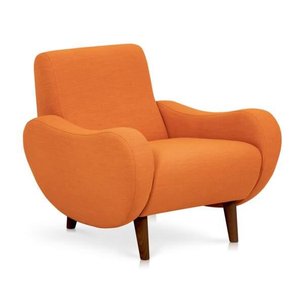 Fauteuil orange Alinéa