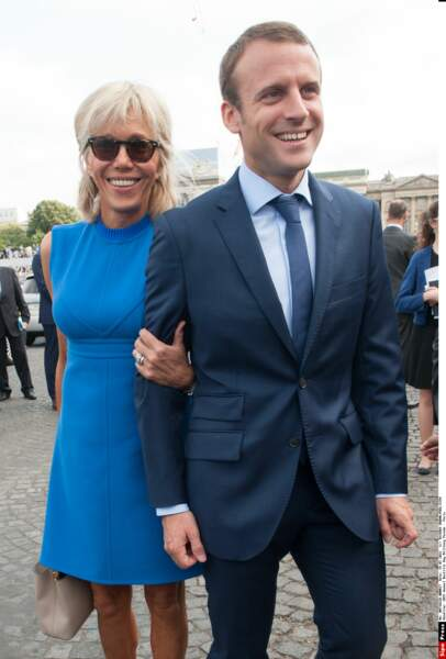 Emmanuel et Brigitte Macron - Juillet 2015