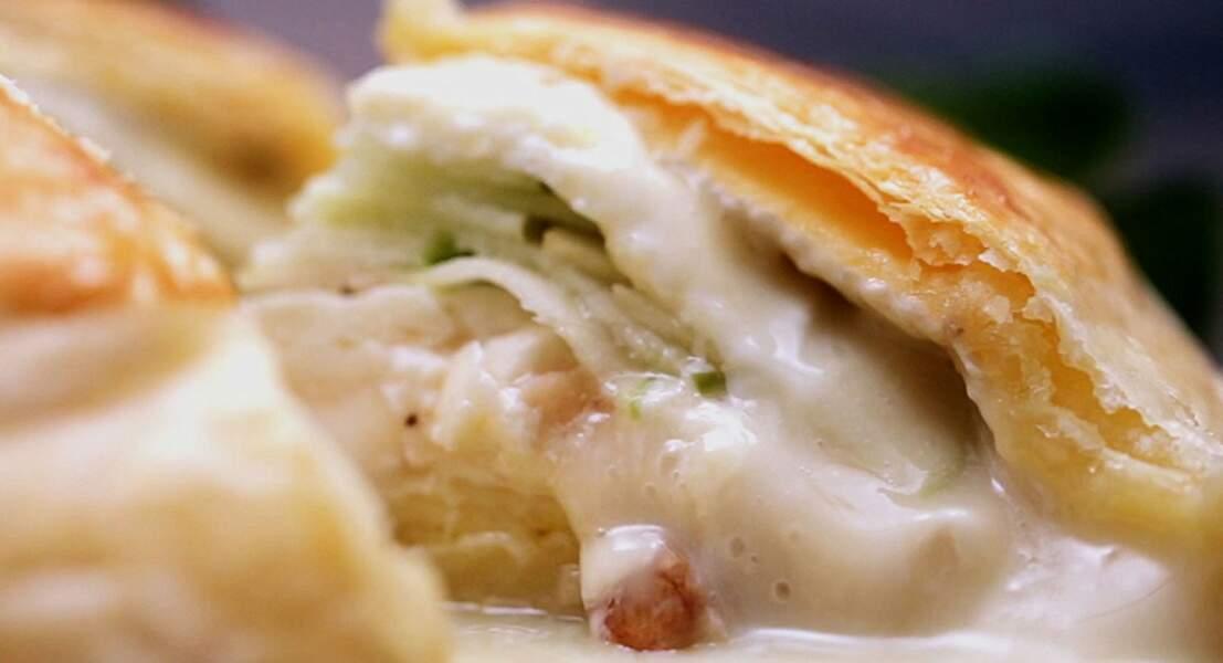 Camembert feuilleté ultra-coulant
