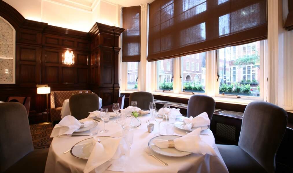 Le restaurant The Connaught d'Hélène Darroze