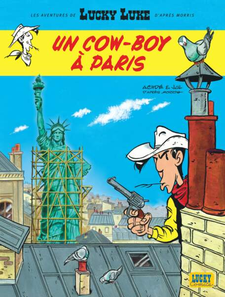 Lucky Luke : un cowboy à Paris