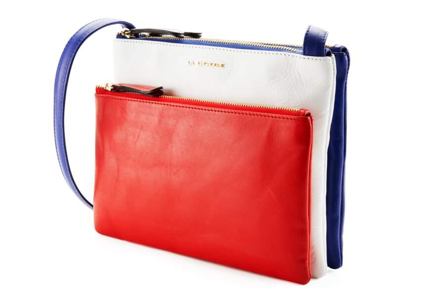 Bleu blanc rouge: le sac chic