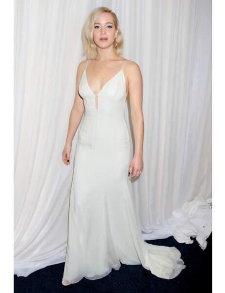 La robe-nuisette de Jennifer Lawrence